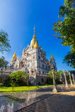Buu Long pagoda at  Ho Chi Minh City, Vietnam, near Suoi Tien Theme Park Royalty Free Stock Photo