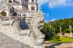 Buu Long pagoda at  Ho Chi Minh City, Vietnam, near Suoi Tien Theme Park Stock Image