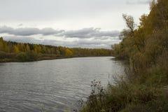 Buurt van de stad van Tyumen. royalty-vrije stock afbeelding