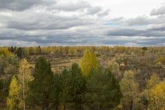 Buurt van de stad van Tyumen. royalty-vrije stock foto's
