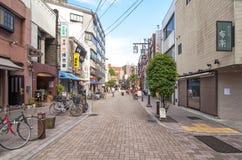 Buurt Yanaka, Tokyo Stock Foto