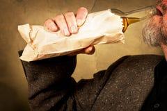 Buveur dur Photo libre de droits