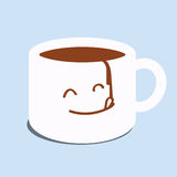 Buvez du café et détendez illustration de vecteur