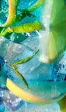 Buvez les bleus Images libres de droits