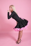 Buxom girl royalty free stock photography