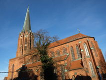 Buxtehude-Basilica Stock Photography
