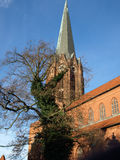 Buxtehude-Basilique Image libre de droits