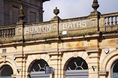 Buxton bad Arkivbild