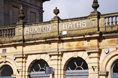 Buxton Baths. Stock Photography