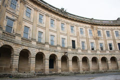 Buxton Crescent Stock Images