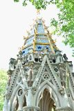 Buxton Memorial Fountain, a memorial and drinking fountain in Victoria Tower Gardens, Millbank, Westminster, London UK celebrating. The emancipation of slaves stock image