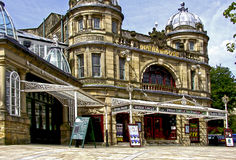 Buxton Opera House in Derbyshire. Front view Royalty Free Stock Photo