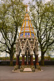 Buxton Pamiątkowa fontanna w Wiktoria wierza ogródach, Londyn, Zjednoczone Królestwo zdjęcia stock