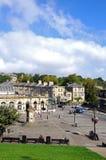 Buxton stadskärna Arkivfoto