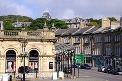 Buxton stadskärna Royaltyfria Bilder