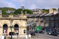 Buxton town centre. Royalty Free Stock Images