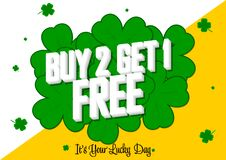 Free Buy 2 Get 1 Free, Sale Banner Design Template, Discount Tag, App Icon, Vector Illustration Stock Photo - 190999870