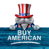 Buy American Business Concept Royalty Free Stock Photography