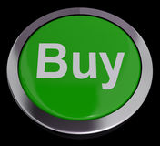 Buy Button For Commerce Or Retail Purchasing Stock Photos
