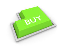 The buy button Royalty Free Stock Photos