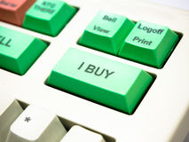 Buy button Stock Photography