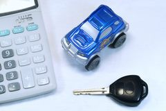 Buy Sell Rent a Car. Calculate for Buy, Sell, Hire-Purchase A Car Stock Image