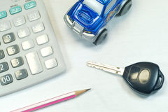 Buy Sell Car Royalty Free Stock Photography