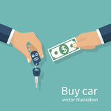 Buy car, concept Royalty Free Stock Photography
