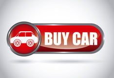 Buy car design Royalty Free Stock Photos