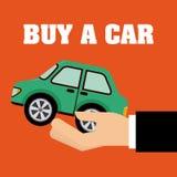 Buy a car Royalty Free Stock Photos