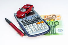 Buy a Car Royalty Free Stock Photo