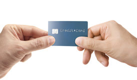 Buy with Credit Card Royalty Free Stock Photography