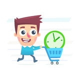 Buy extra time Royalty Free Stock Photo