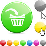 Buy glossy button. Royalty Free Stock Image