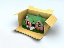 Buy a house Stock Images