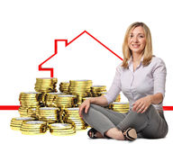Buy house Stock Image