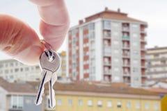 Buy house Stock Photography