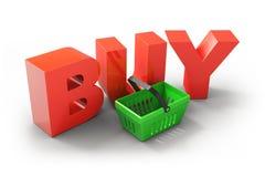 BUY icon Stock Photos