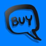 Buy icon Royalty Free Stock Photos