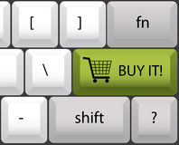 Buy it keyboard Royalty Free Stock Image