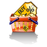 Buy labels Royalty Free Stock Photo