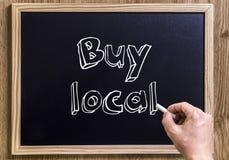 Buy local Stock Image