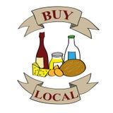 Buy Local Produce Stock Photos