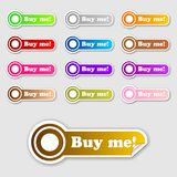 Buy me buttons 2 Royalty Free Stock Image