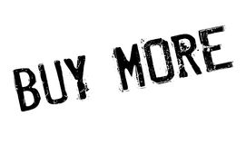 Buy More rubber stamp Stock Photo