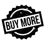 Buy More rubber stamp Stock Photography