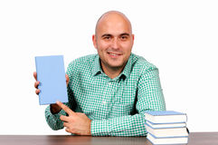 Buy my book isolated Stock Photography