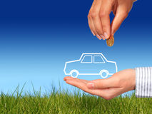 Buy new car. Stock Images