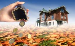 Buy new house concept Stock Photo