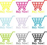 Buy Now Stock Photography